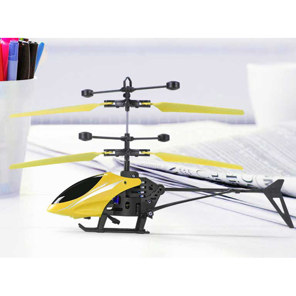 Balance Ball Aircraft: LED Light Flying UFO Mini RC Helicopter Aircraft Infrared