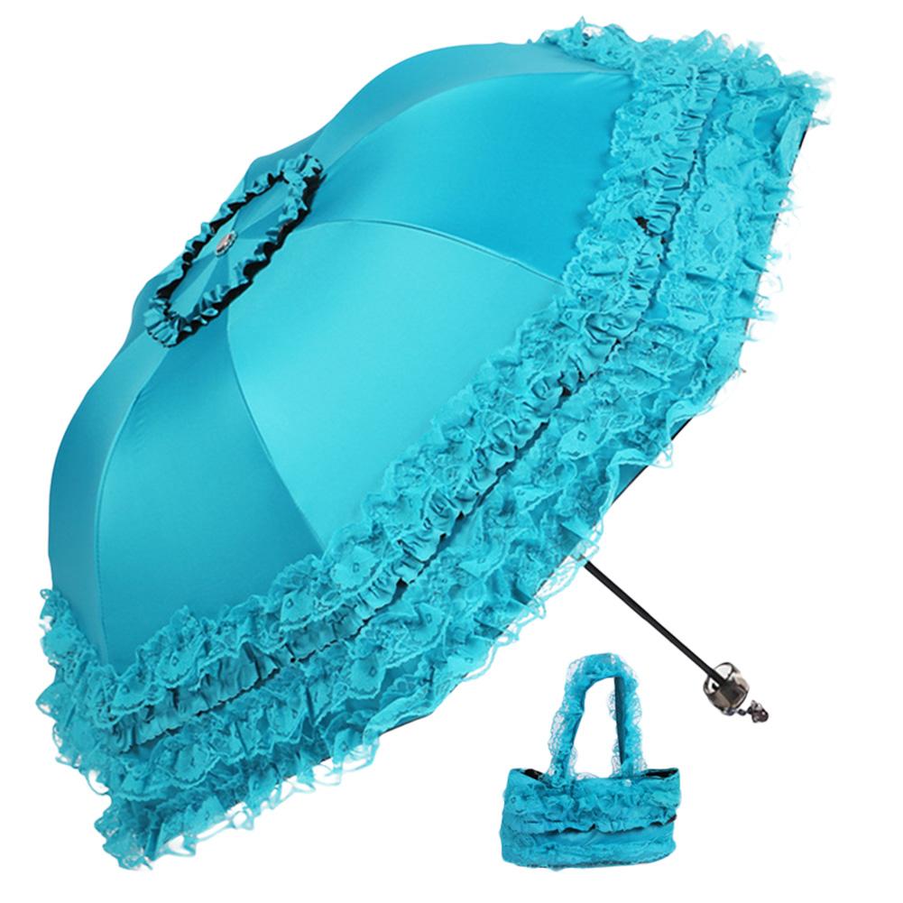 lace princess automatic foldable rain and anti uv folding. Black Bedroom Furniture Sets. Home Design Ideas