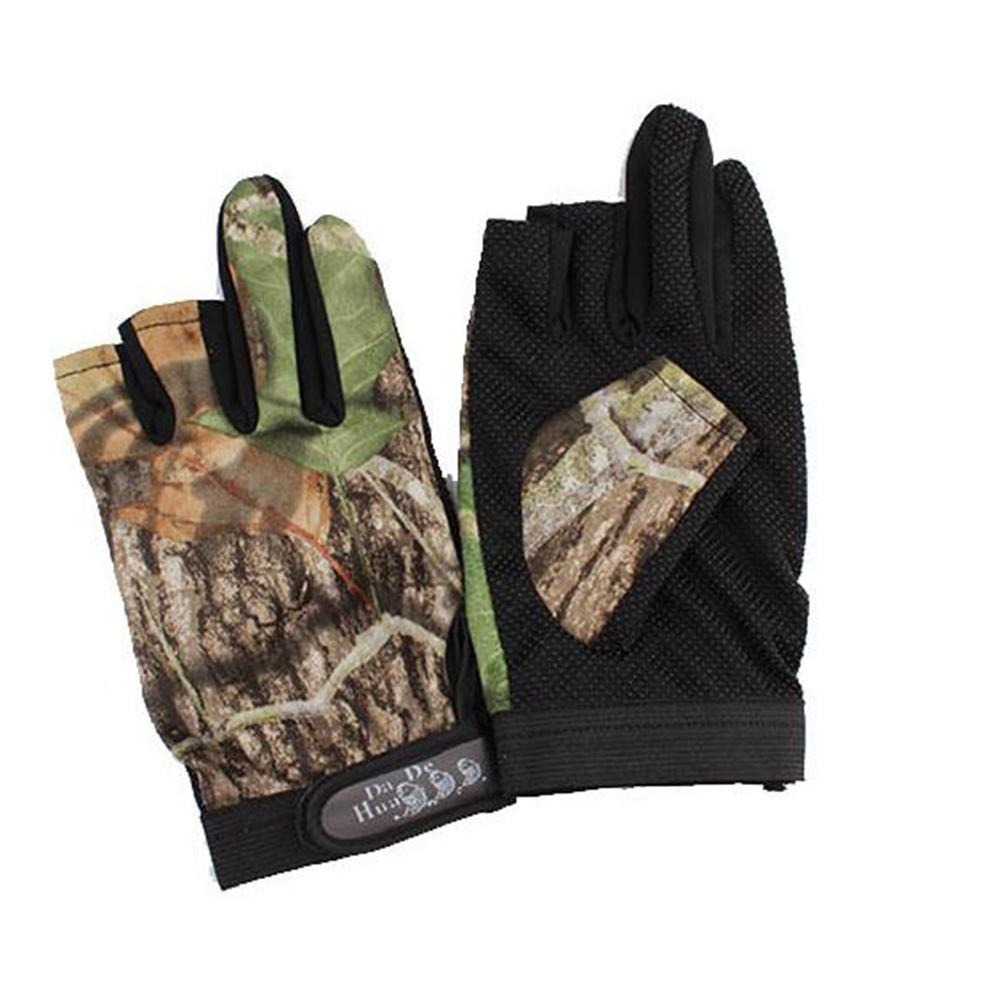 New outdoor waterproof antiskid fingerless fishing gloves for Fishing sun gloves
