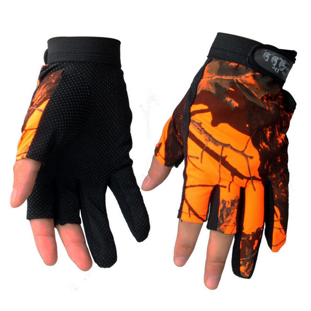 New Outdoor Waterproof Antiskid Fingerless Fishing Gloves
