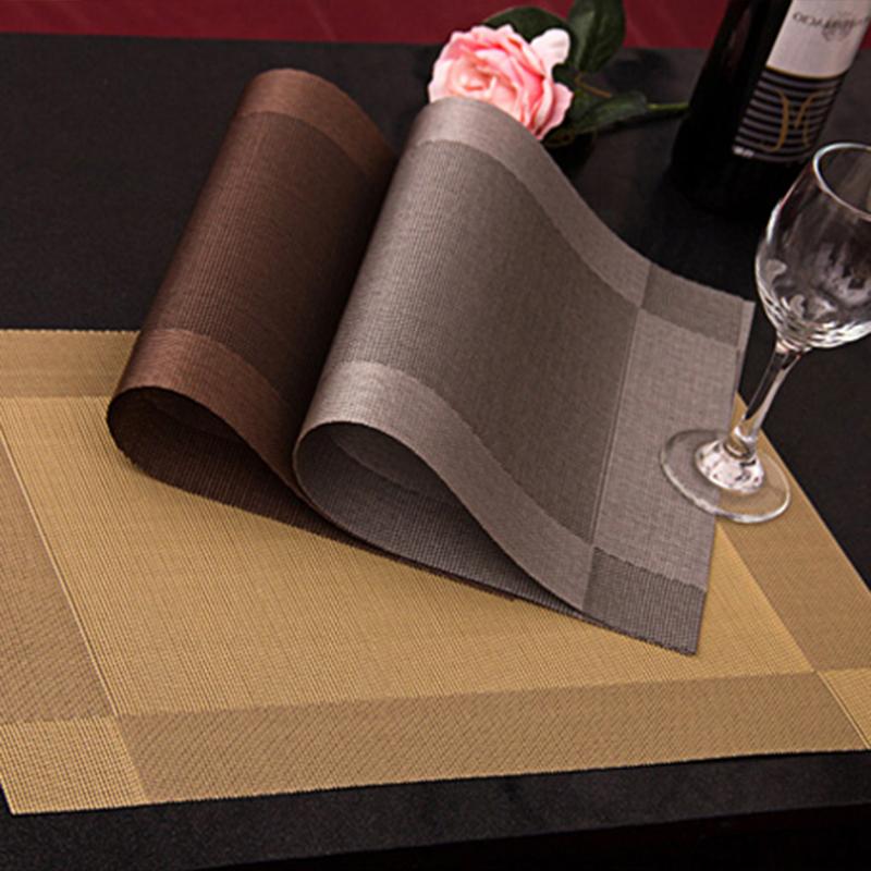 Tischsets Abwaschbar pvc umwelt tischsets abwaschbar platzdecke tischmatte platzset